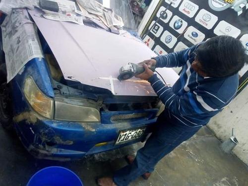 pintura automotriz a domicilio o talleres