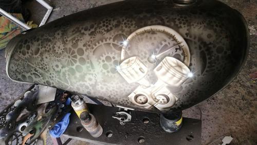 pintura automotriz , motos y aerografia