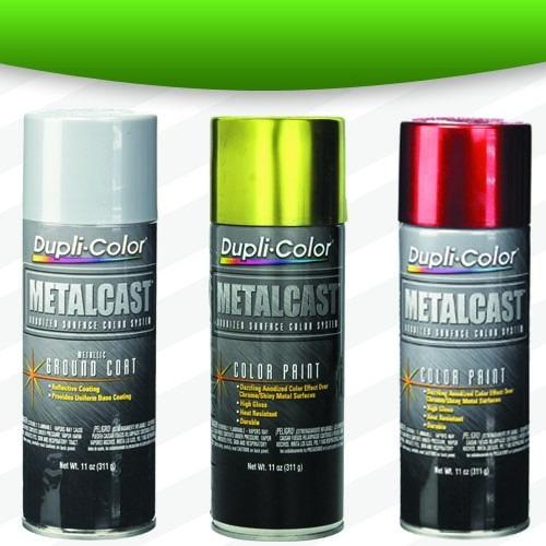 Pintura azul en aerosol metalcast duplicolor anodizada - Pintura en spray para coches ...