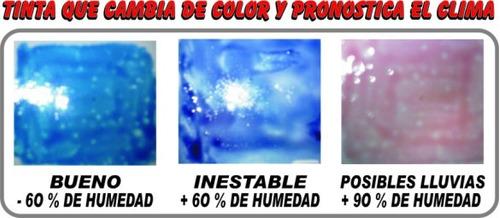 pintura cambia color pronostica clima artesanías souvenires