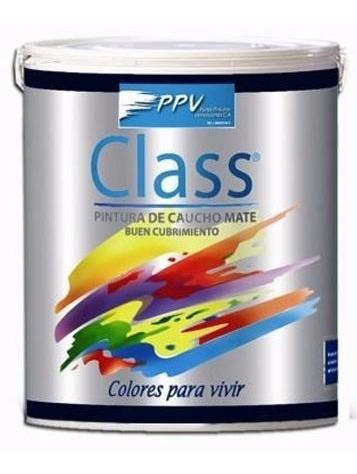 pintura caucho int/ext  c  class blanco puro galon