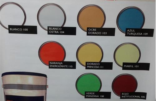 Pintura caucho mate color marfil cu ete de 4 galones bs - Pintura color marfil ...