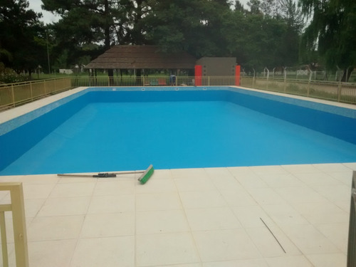 pintura celeste por 20 lts piscinas jetcil base acuosa