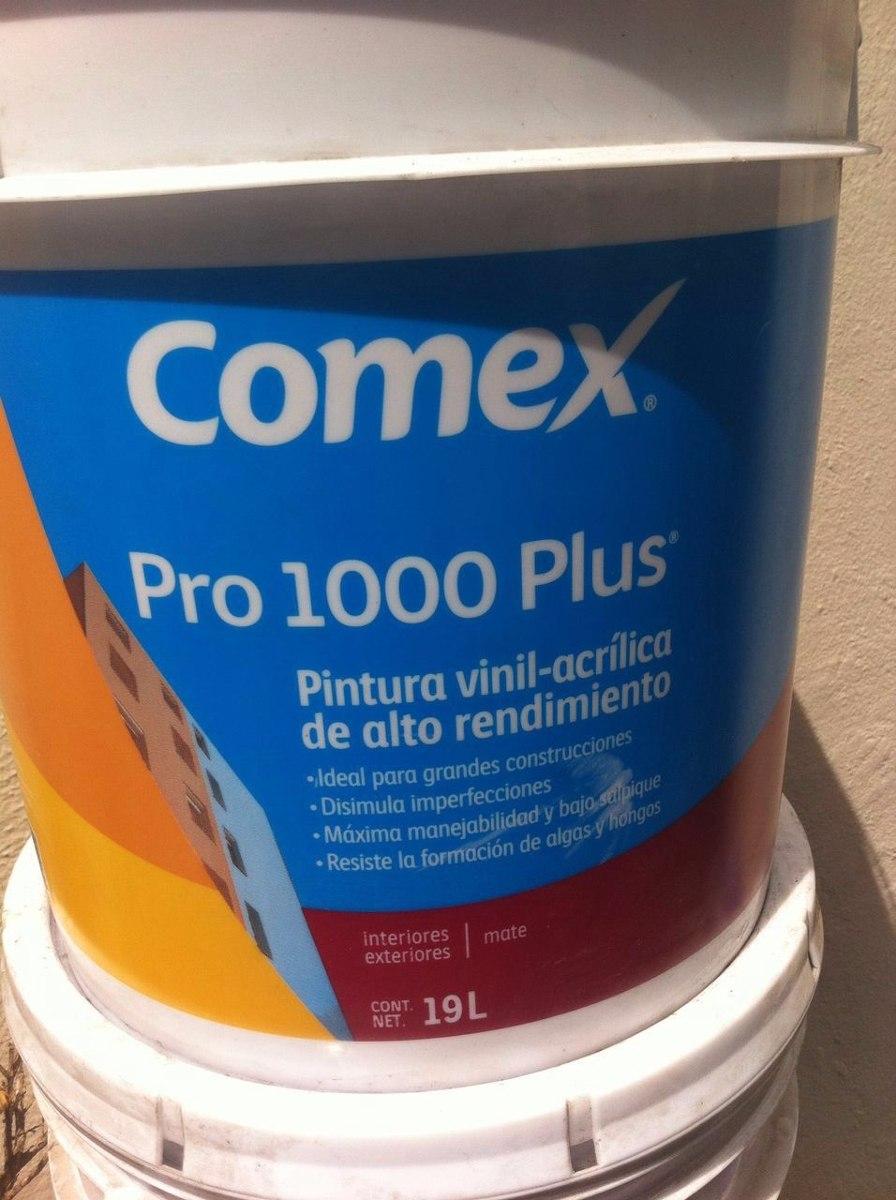 Pintura comex en mercado libre - Precio pintura exterior ...