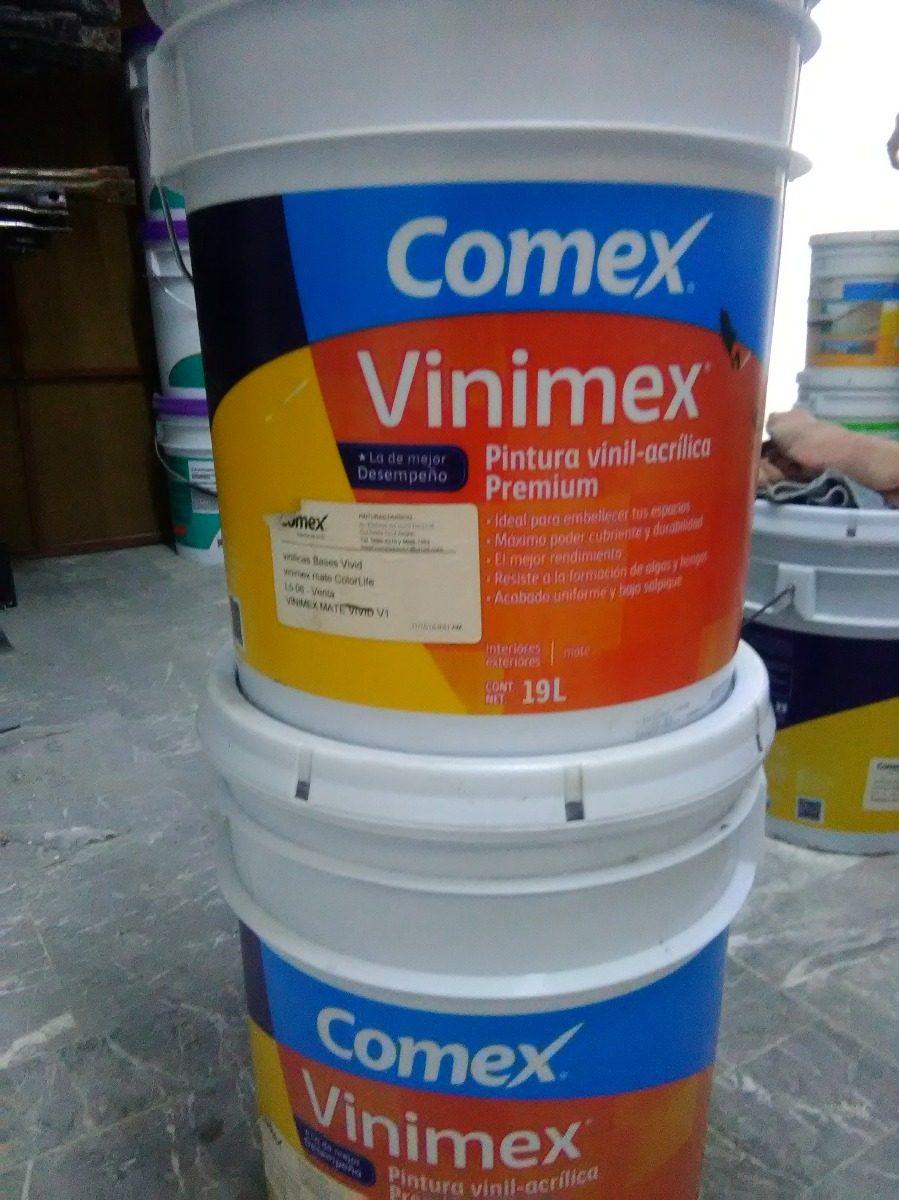 Pintura comex vinimex vinil acrilica premium 1 - Pintura para baneras precio ...