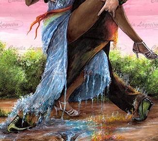 pintura cor tango