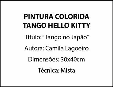 pintura cor tango hello kitty