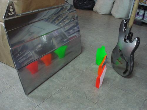 pintura cromada -efecto cromo espejo - tunning