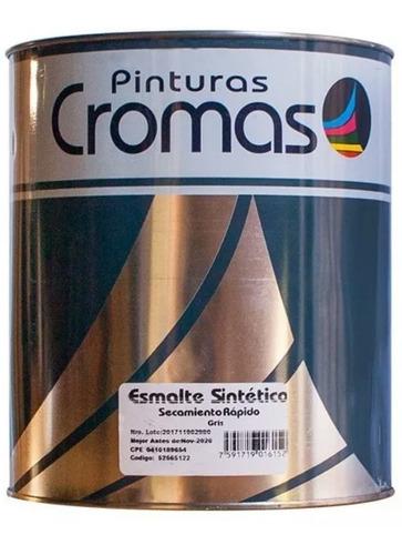 pintura cromas aceite 1/4 esmalte sintetico secamieto rapido