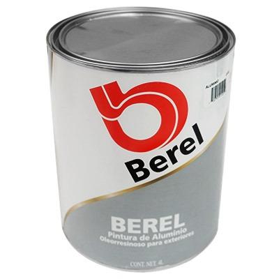 Pintura de aluminio para exterior 1 galon berel 639 - Pintura para aluminio ...