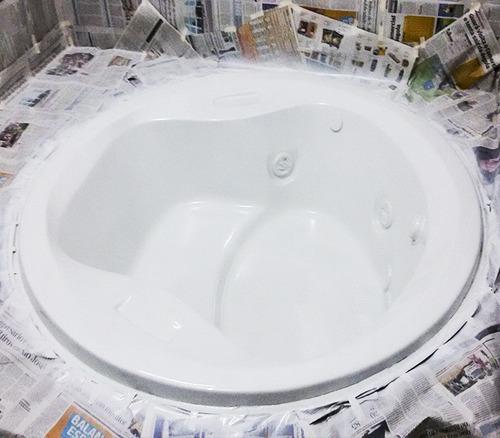 pintura de bañeras y jacuzzi