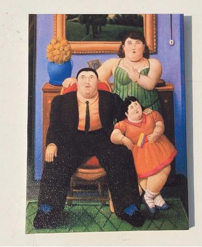 pintura   de botero  familia colombiana
