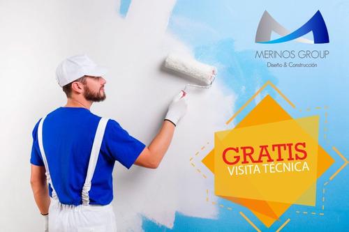 pintura de casa edificio estuco veneciano pisos industriales