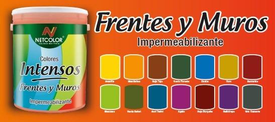 Pintura De Color Latex Netcolor X 10 Lts Ferreteria Virreyes ...