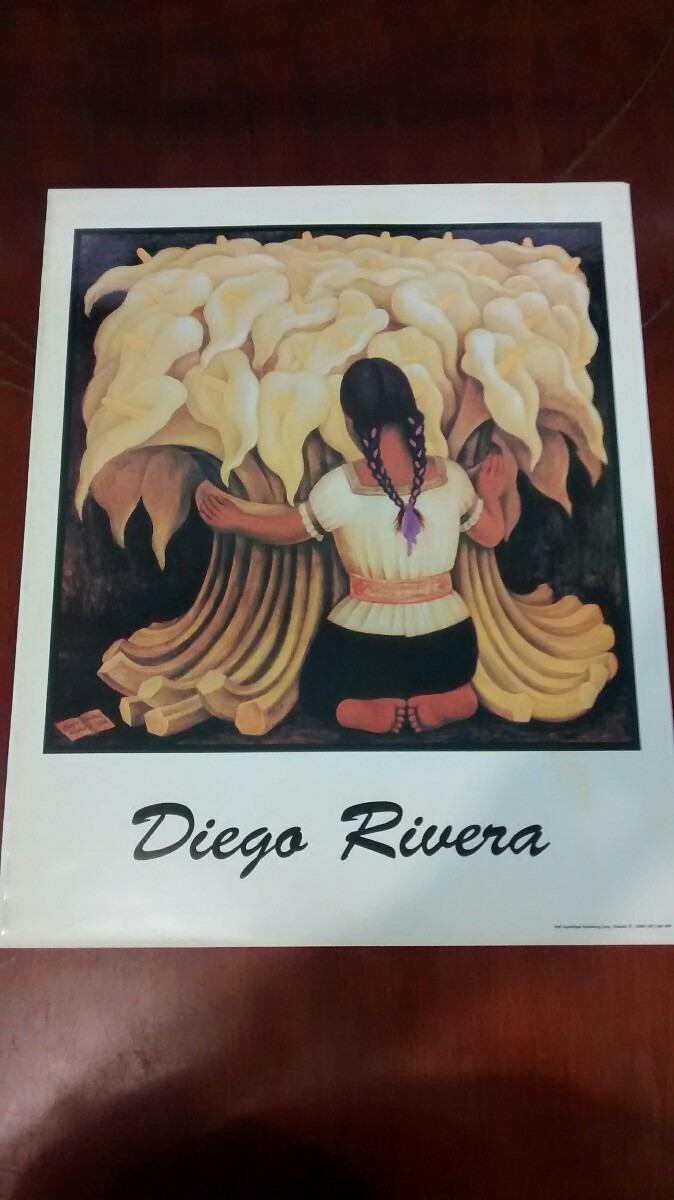 Pintura De Diego Rivera Serigrafia Cartel Para Enmarcar - $ 188.48 ...