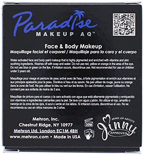 pintura de la cara y cuerpo mehron makeup paradise aq, mango