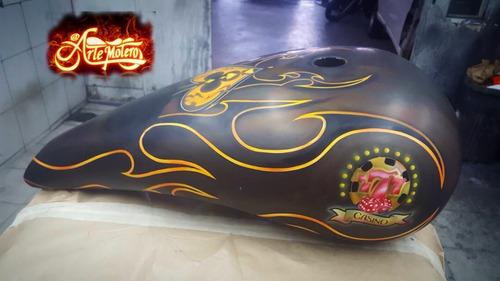 pintura de motos
