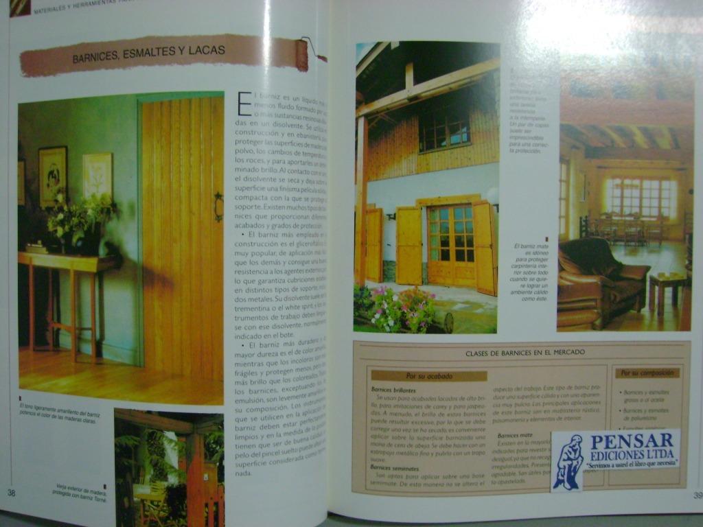 Pintura de muebles y tratamiento de madera 4 t atrium - Tratamiento carcoma muebles ...