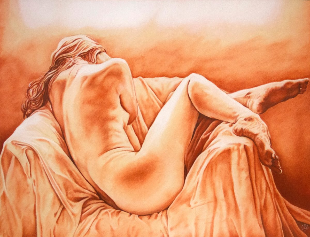 Pintura De Mujer De Espalda 450000 En Mercado Libre