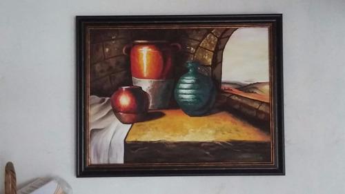 pintura de oleo hecha a mano