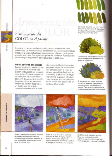 pintura de paisaje. guía para principiantes. libro parramón