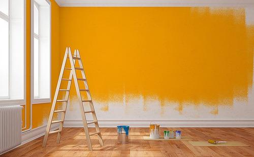 pintura de paredes em geral