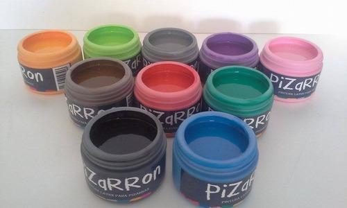 pintura de pizarra pintura pizarron negro y colores vintage