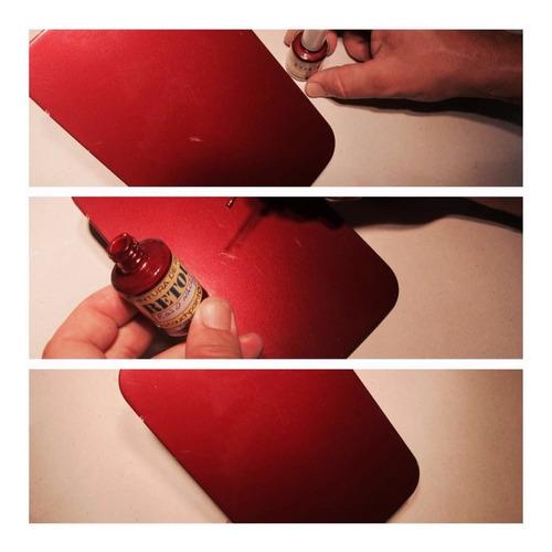 pintura de retoque automotor retouch retoke esmalte bicapa