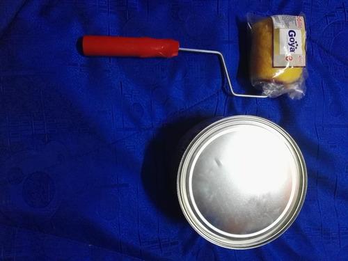 pintura demarcación amarillo 1/2 galón kolor