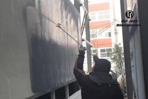 pintura dentro de chiloé ( airless y convencional)