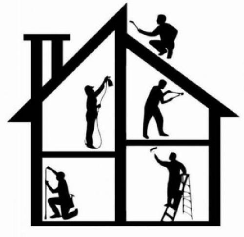 pintura e manutenção de residência