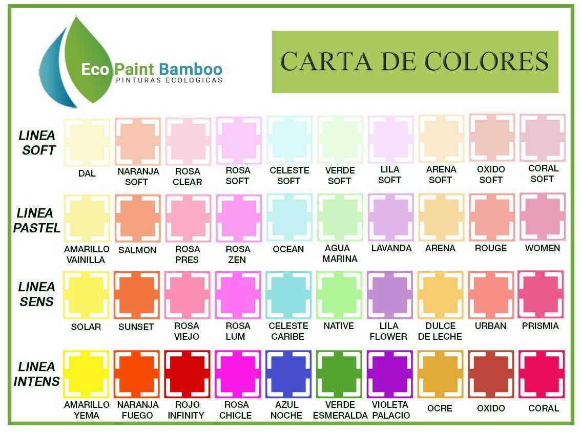 Muestra de colores de pintura para interiores amazing los for Muestras de colores de pintura