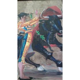 Pintura .el Pase De Toro
