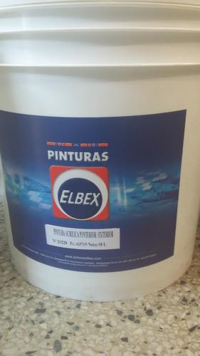 pintura elbex latex