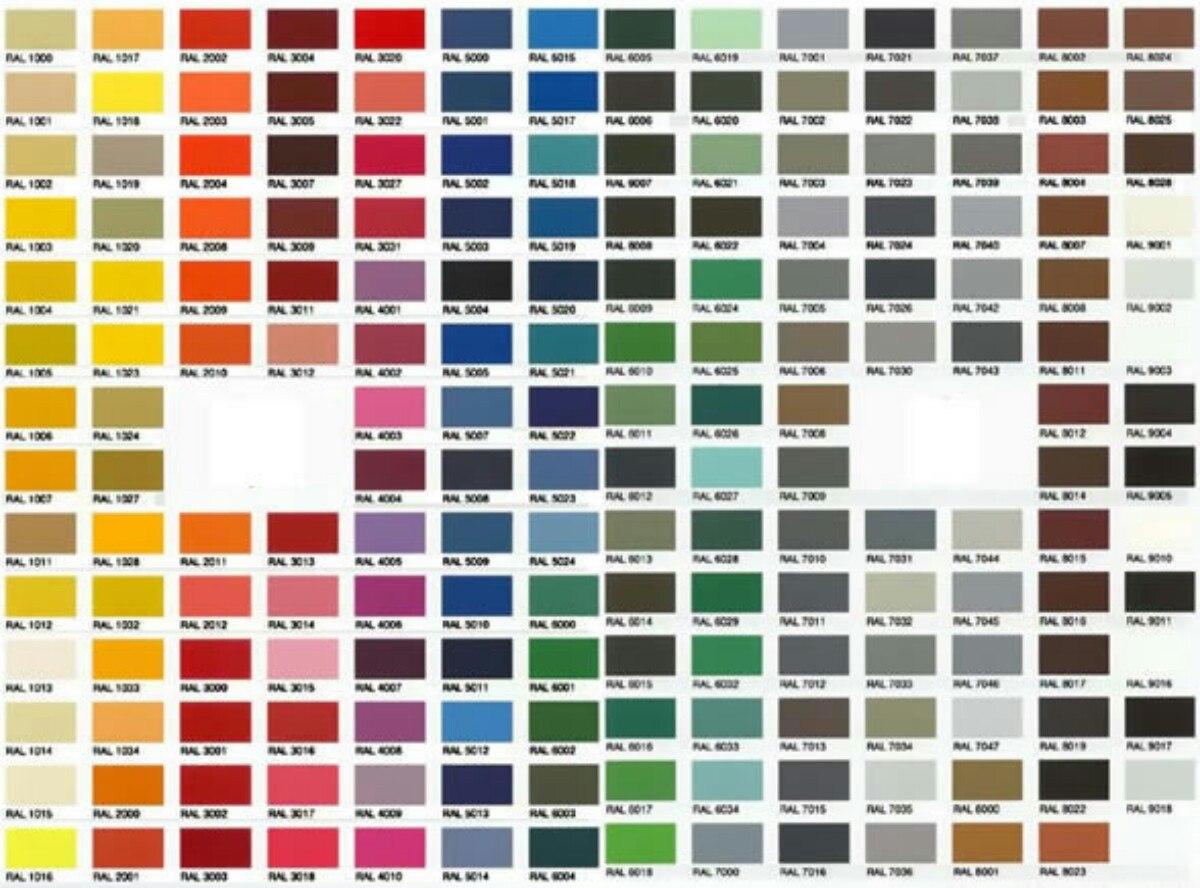Pintura electrost tica bs 0 18 en mercado libre - Gamas de colores azules ...