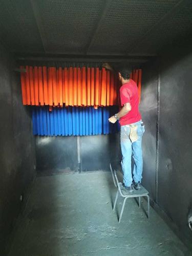pintura electrostática en polvo horneable