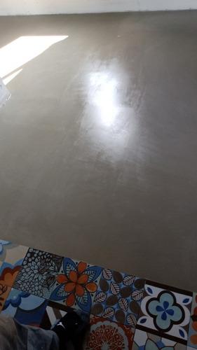 pintura en gral | revestimiento plástico | cemento alisado.