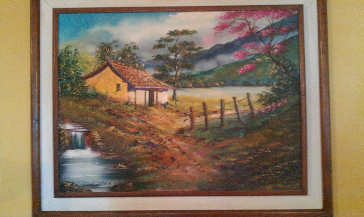 Pintura En Oleo (enmarcado) 1 Mt. X 79 Cm. - Bs. 6.000.000,00 en ...
