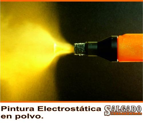 pintura en polvo electrostatica