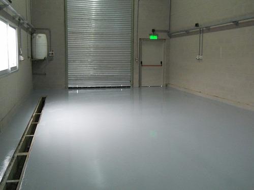 pintura epoxi autonivelante p/ pisos garage resiste nafta