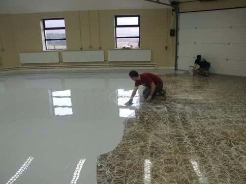 Pintura epoxica en mercado libre for Como hacer un piso de cemento paso a paso