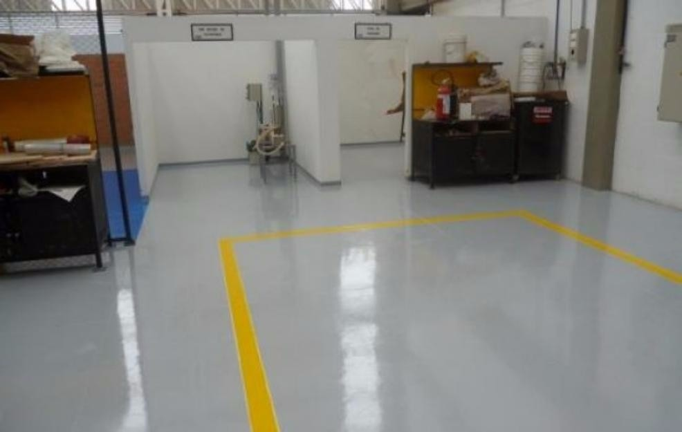 Pintura epoxica para piso y senalizacion en for Pintura para pisos colores