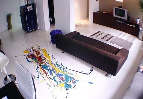 pintura epoxica  pisos 3d personalizados  contable x m2