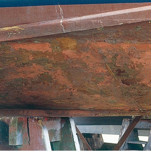 pintura  epoxica rust oleum  dtm mastic uso naval 2 gal