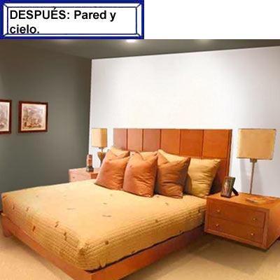 Pintura esmalte beralkid 417 2 amarillo cromo 1 4 lt for Pintura interior gris perla
