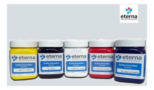 pintura eterna o plantec para tela 250ml todos los colores