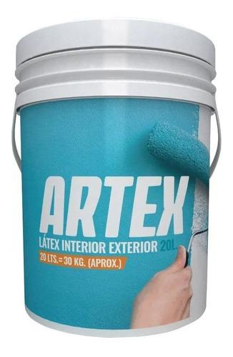 pintura  exterior interior artex polacrin 20l pintumm