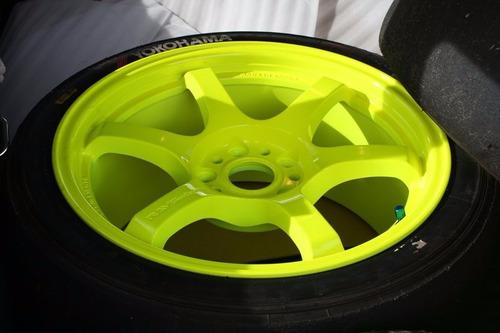 pintura fluo acrilica automotor a/solvente 250cc
