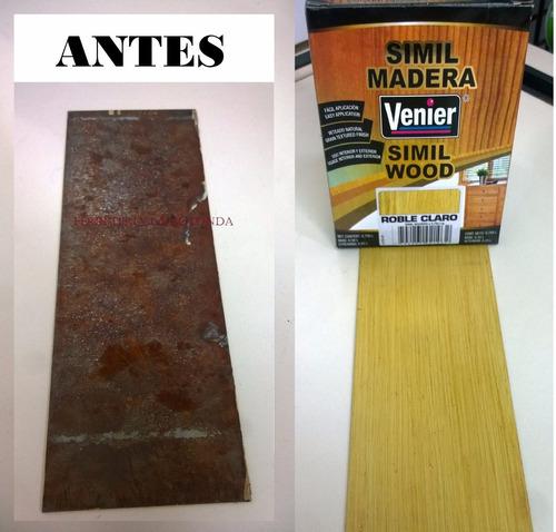 pintura imitacion simil madera venier 1,5l