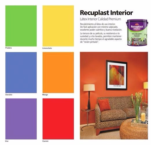 Colores de pintura de interior cheap best of carta de - Pintura interior colores ...
